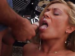 Naughty MILF biker fuck for a safe ride