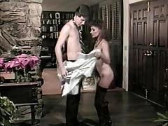 Ginger Lynn Allen, Tom Byron, Pamela Jennings in classic fuck video