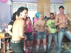Her fun birthday party becomes a wild and crazy orgy