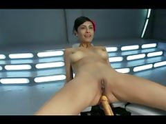 automatic dildo beauty