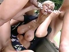Milf carsex with soldiers
