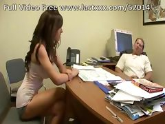 Kenzi Marie big tits office fuck