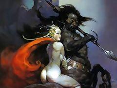 Erotic Fantasy Art 3 Frank Frazetta