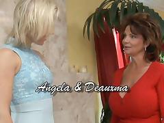 Deauxma & Angela Stone in Lesbian Seductions #17, Scene #04