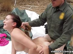 Bliss Dulce in Anal for Tight Booty Latina - BorderPatrolSex