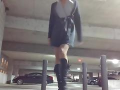 Horny In A Parking Lot