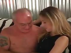 junior blonde with old fart