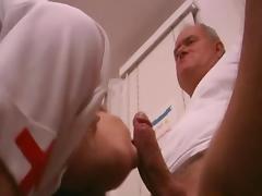 Filthy Old Fart Fuck Nurse