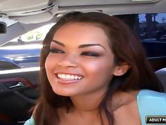Daisy Marie fucked in her Latina cunt as she uses a toy