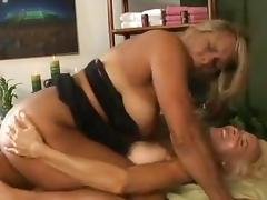 Lesbian massage seduction