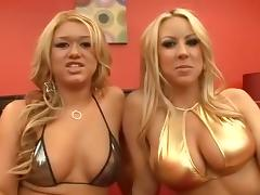 Exotic pornstars Cayden Moore, Carolyn Reese and Claudia Rossi in best adult video