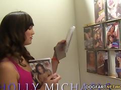 Holly Michaels Deepthroats BBC - Gloryhole