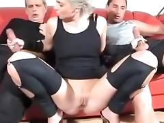 Exotic Amateur record with Blonde, Big Dick scenes