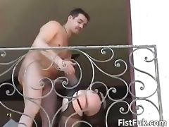 Hot blonde gets her wet cunt fucked part2