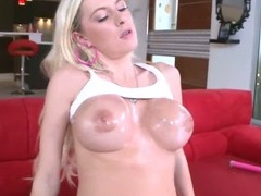 Blonde MILF Sucks Big Cock