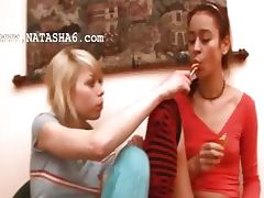hot teens from Russian and lollipops