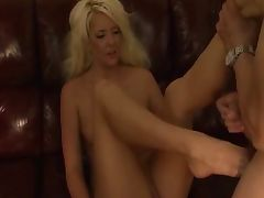 Courtney Taylor makes sure her man does as he