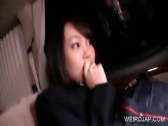 Asian teen cutie gets hot assets teased
