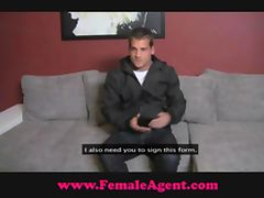 FemaleAgent Sex starved casting