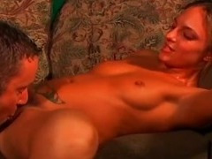 Scary big cock makes this babe so horny