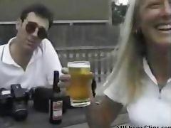 English Wife And Her Ebony Lover Sexy Cuckold Action black ebony cumshots ebony swallow interracial