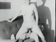 Plump MILF Fucked by Young Man 1950