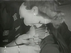 German Wife Gives Husband Head 1940