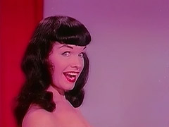Raven Haired Beauty Dances Seductively 1950