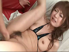 Misa Kikouden in a group toy orgy