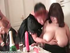 Horny experienced woman grabs some part2