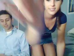 Hot webcam babe Sarah having sex
