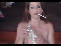 Hot Babe Smoking 120s and Teasing JOI