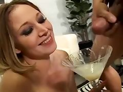 She Loves swallow a lot of cum