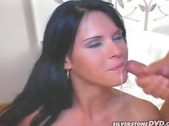 Sexy Jennifer Dark gets fucked hard in both holes