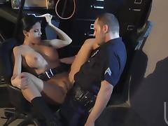 Gorgeous Latina Mikayla Mendez Fucks A Policeman To Taste