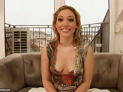 Blue Angel and Lily Labeau show their fisting skills to each other