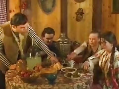 Russian Vintage videos. Natural furry and raunchy gals drilling hard in Russian made retro sex videos