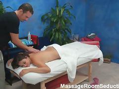 Allie haze's gorgeous massage session
