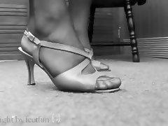 LenaTV25 Spezial Shoeplay Stockings Foot Fetish S03