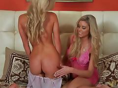 Brittany Barbour is having an interview with a smoking hot blondie