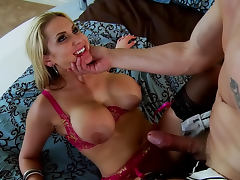Blonde Alanah Rae being drilled in her puss by Mark Ashley