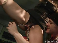 Cindy Hope loves to be dominated in hot BDSM videos