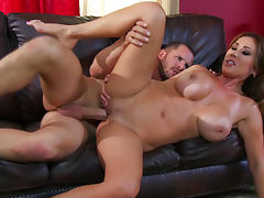 Milf Kianna Dior rides on cock of Scott Nails