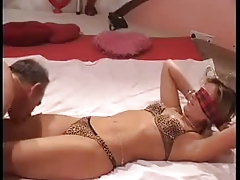 Escort Karina Fucks Older Gentleman