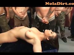 Bukkake Princess On The Sperm Altar
