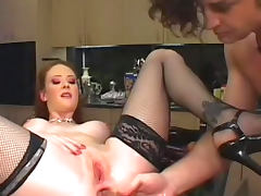 Audrey Hollander fucks in anal with Otto Bauer