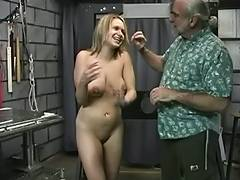 Golden Haired with hawt pierced love muffins acquires tortured