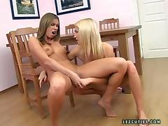 Natalia and her lusty girl friend enjoy in taking all
