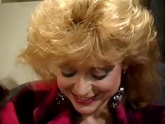 Sassy blond is screwed in a retro xxx movie scene