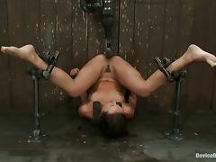 Busty Isis Love Face Sitting and Toying Babe Sinn Sage in Bondage Vid